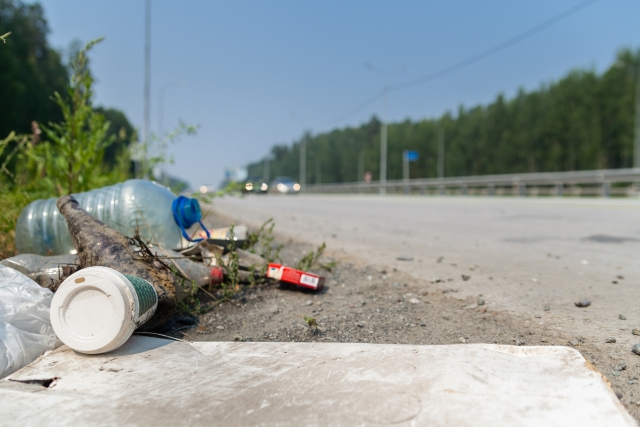 Litter and fly-tipping in Flanders in 2017